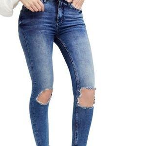 Free People High Waist Jeans